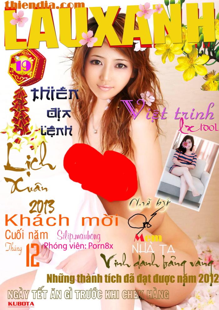 Tạp Chí ngưới lớn Việt Nam 18+ LAUXANH số 19