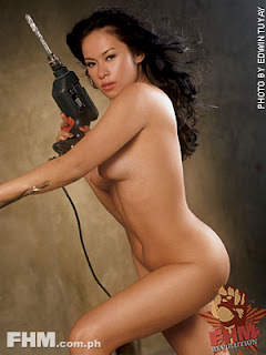 Aleck Bovick Sexy Filipino Actress Sexy Photo In June 2004 FHM 5