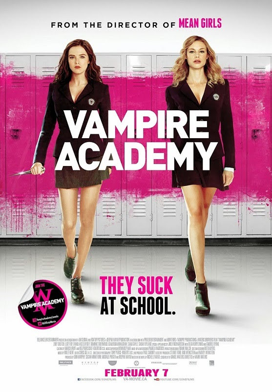 Vampire Academy (2014) BluRay 720p