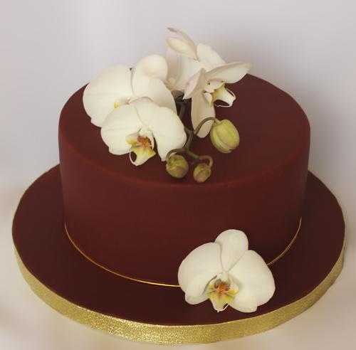 Торт орхідея фото