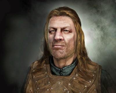 Ned Stark 3d