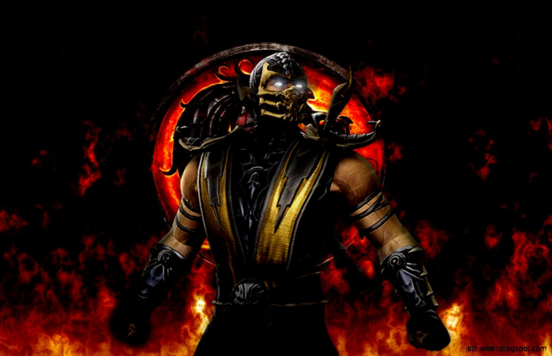 mortal kombat scorpion wallpaper this wallpapers