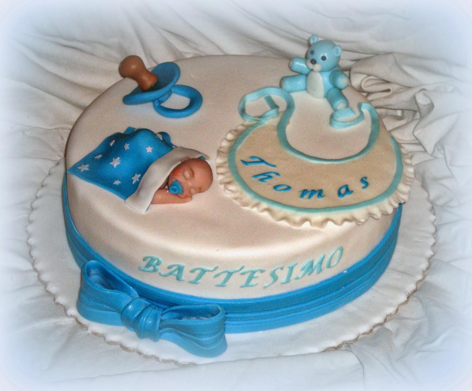 Very 39 s cake dolce battesimo for Decorazioni torte trenino thomas