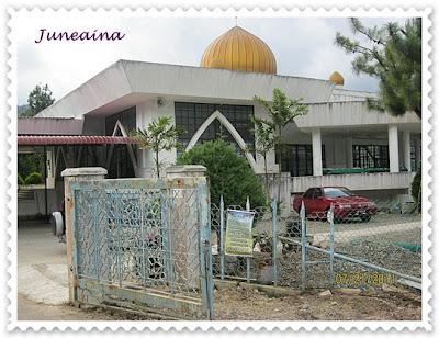masjid kundasang
