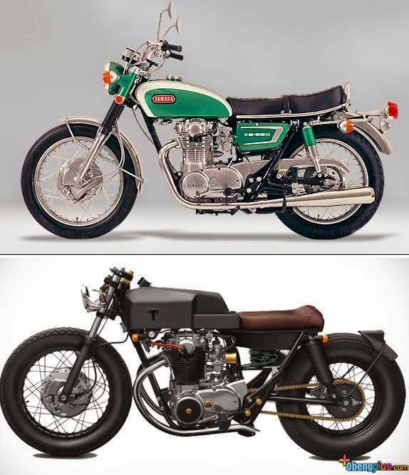 Inilah koleksi gambar dan foto modifikasi motor Koleksi Gambar Modif Motor Tua Yamaha