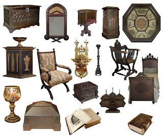 Imagenes de muebles y objetos al estilo medieval cute e girly - Muebles estilo neoclasico ...