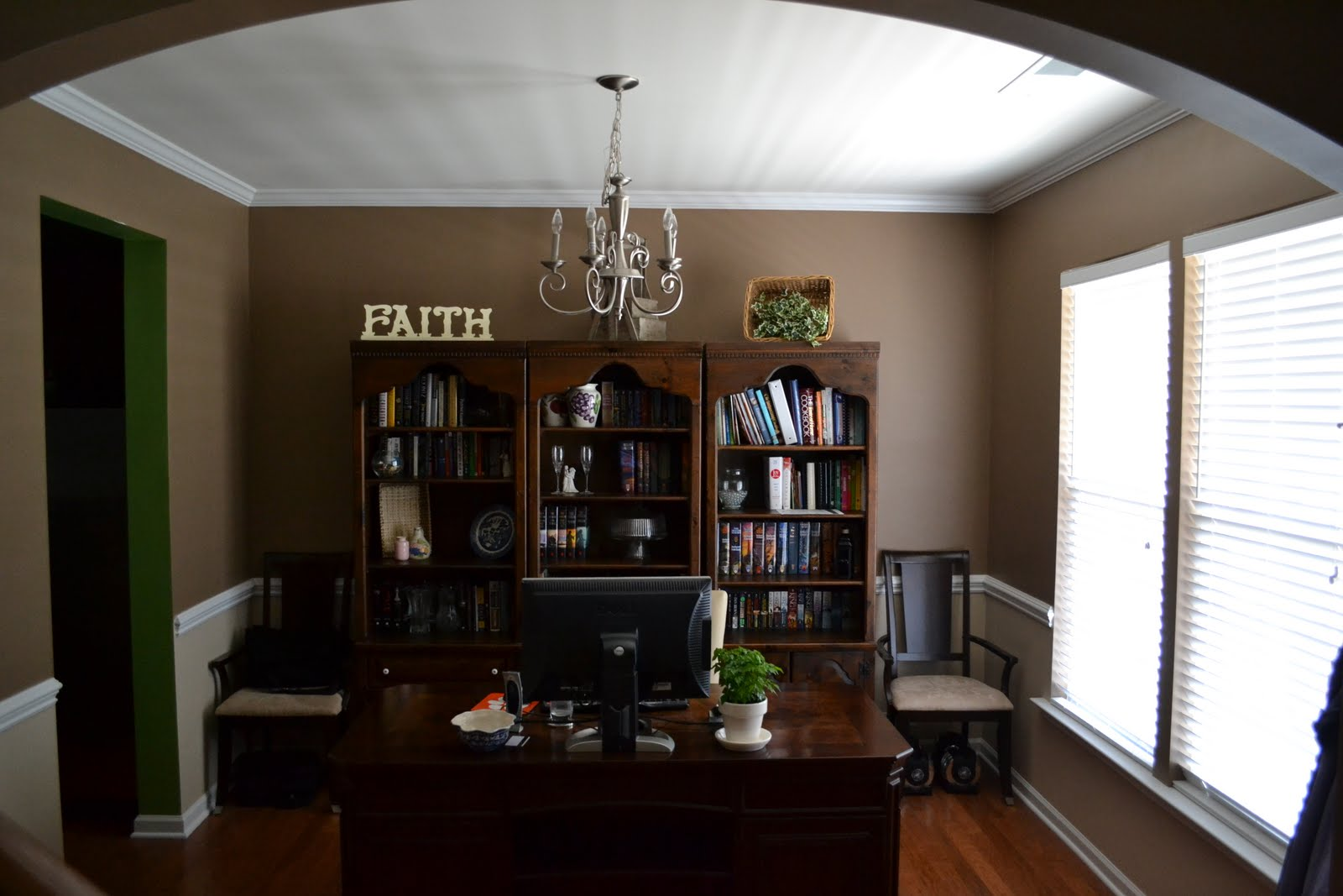 laforce be with you dining room turned office