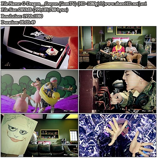 Download MV G-Dragon - Crayon (GomTV Full HD 1080p)