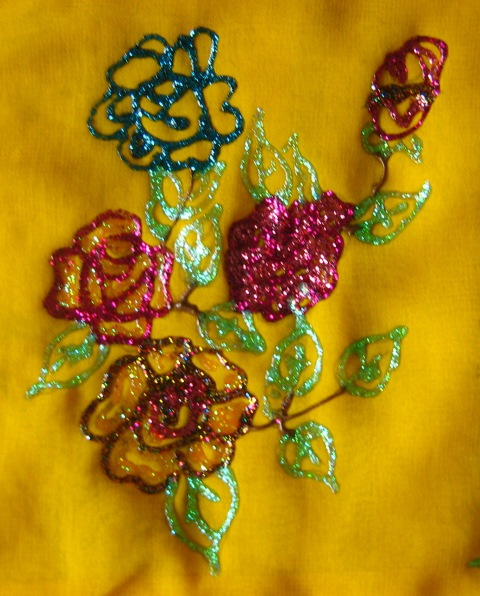 Tanjorepaintings Fabric Painting