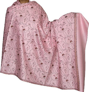 Embroidered Shawl Stole Women's Accessory India