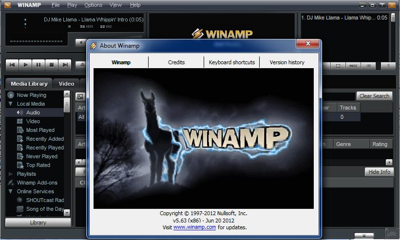 Winamp Pro Кряк
