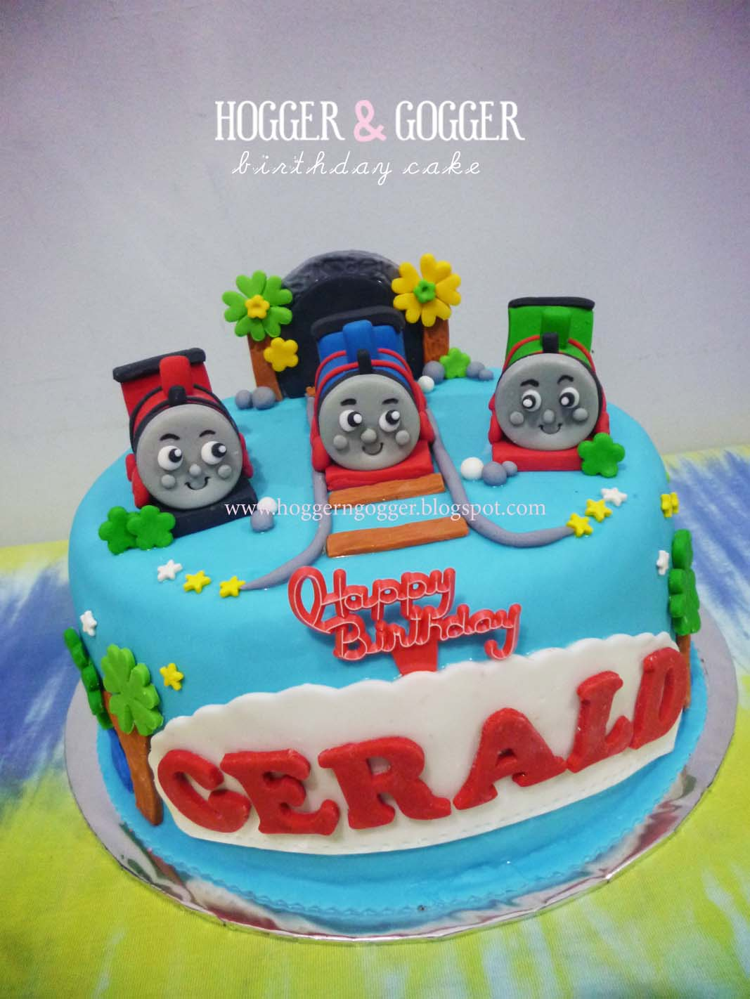 Hoggergogger Gerald Thomas Birthday Cake