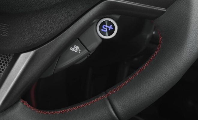 2013 Honda CR-Z Sport Plus button