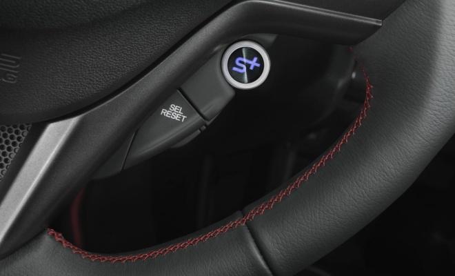 2013 Honda CR-Z Sport Plus button