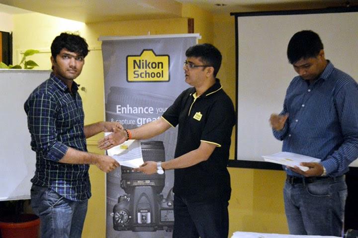 Nikon school certificate