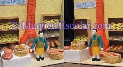 maqueta de panaderia