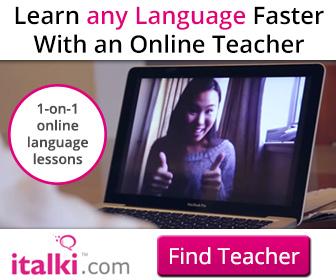 1对1在家学外语