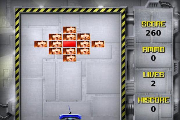 Brick Breaker Game Blackberry1