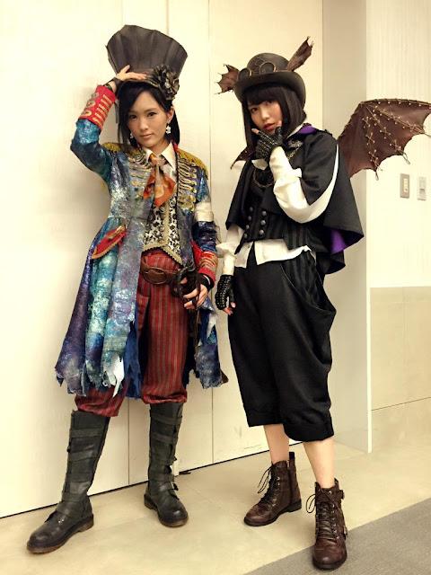 AKB48 Yamamoto Sayaka & Yokoyama Yui Halloween Night 01