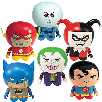 DC Comics x UNKL Vinyl Figures - Batman, Superman, The Flash, The Joker, Harley Quinn & Mr. Freeze