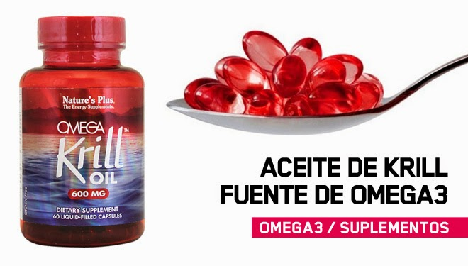 Grasas Omega-3  aceite de Krill
