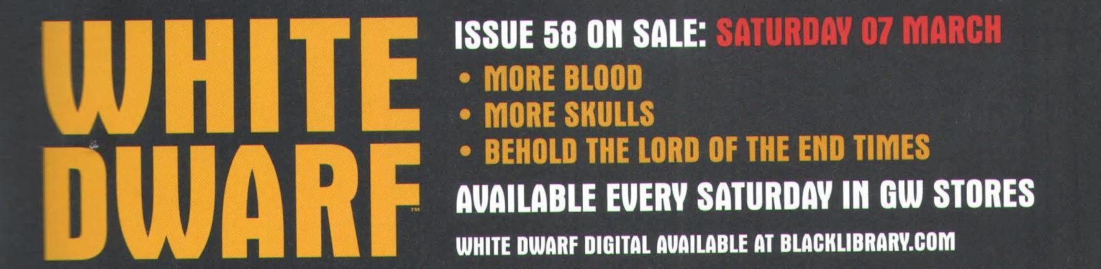 Adelanto de la White Dwarf Weekly 58