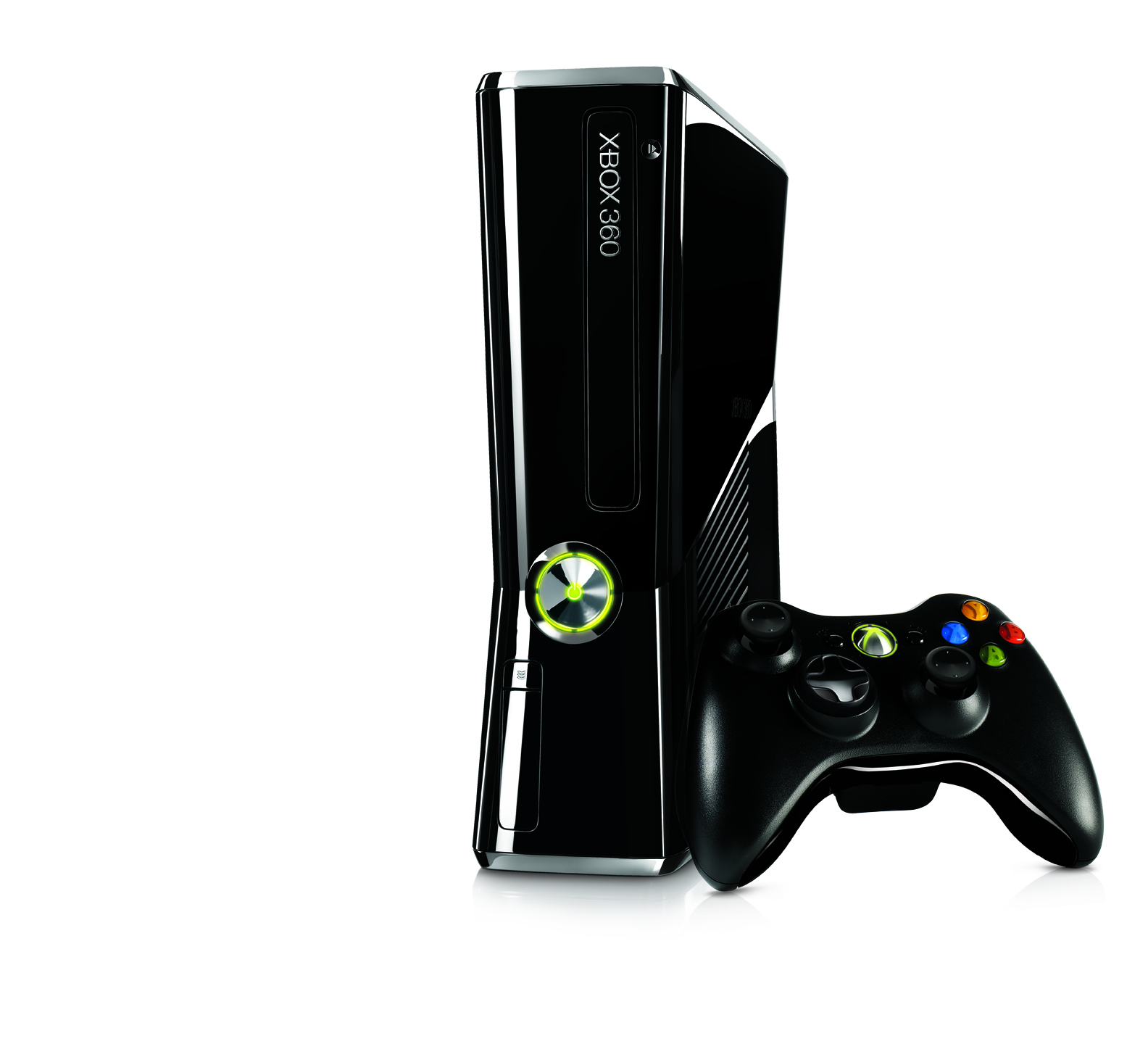 Xbox 360 Slim Vs Xbox 360 Elite Xbox 360 E Back - View...