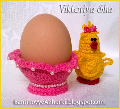 вязанная-подставка-для-яйца-на-Пасху