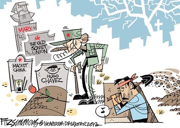 Fidel Castro cartoon, Fidel Castro, Castro Political Cartoon
