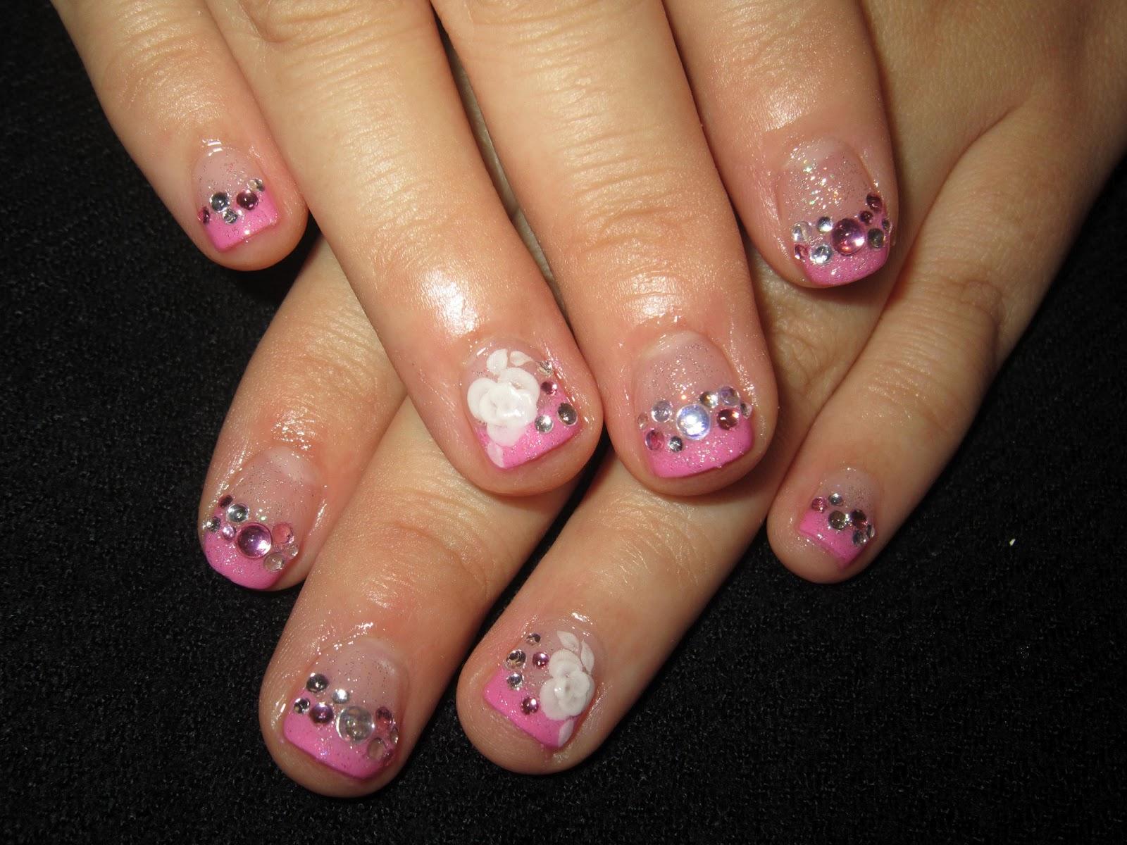 ♥Cute Nail Designs♥: Wedding Pink French Nails