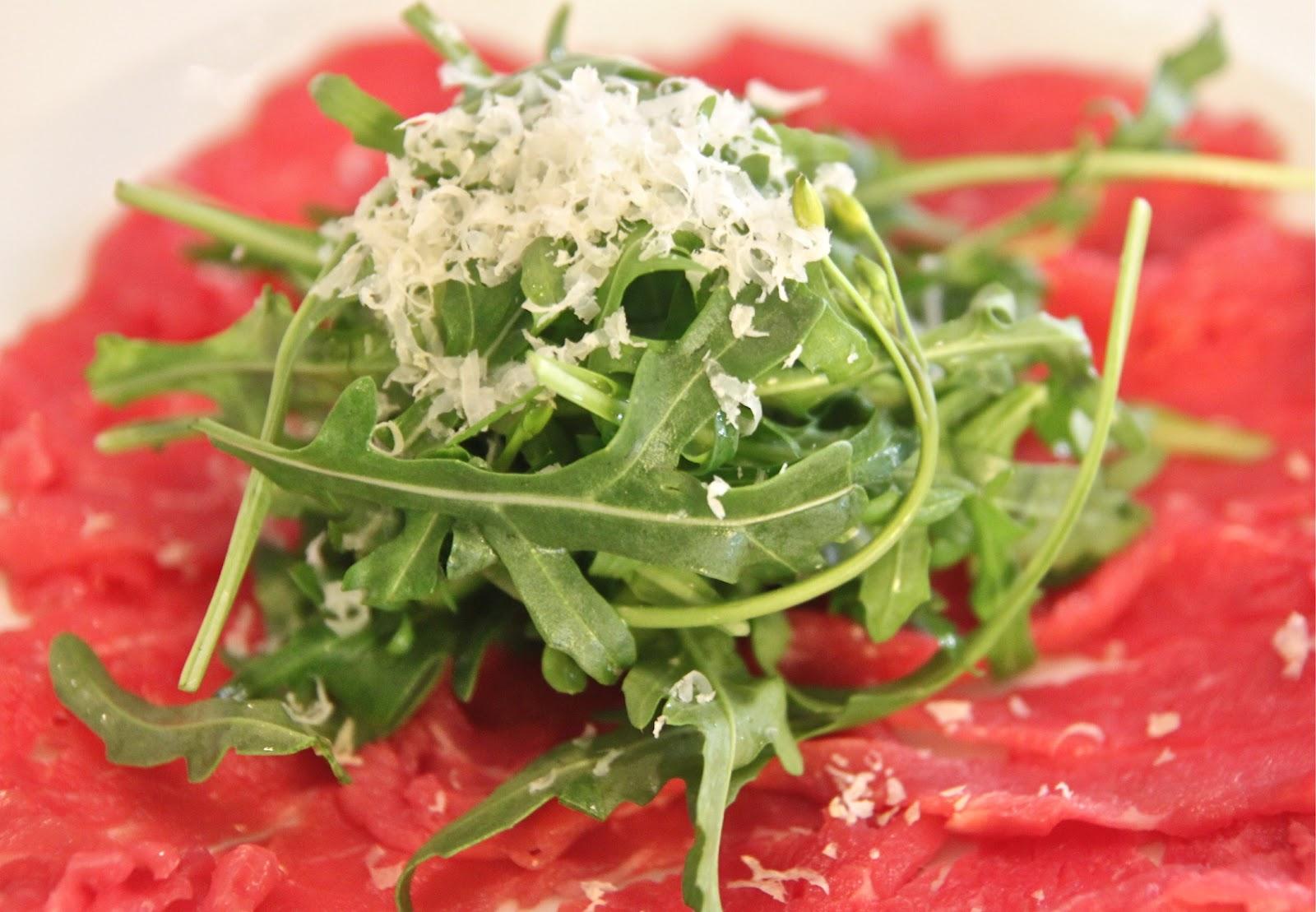 Beef Carpaccio, Western style