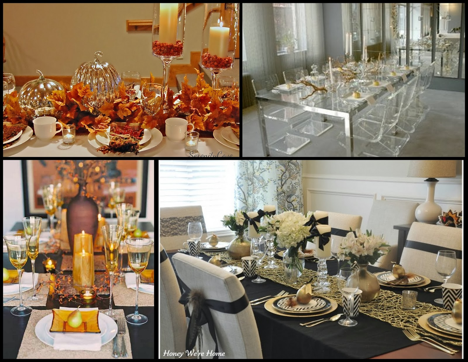 Metro luxe events candice vallone elegant thanksgiving for Elegant table setting for thanksgiving