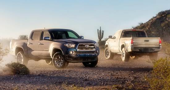 2016 Toyota Tacoma Redesign and Release Date