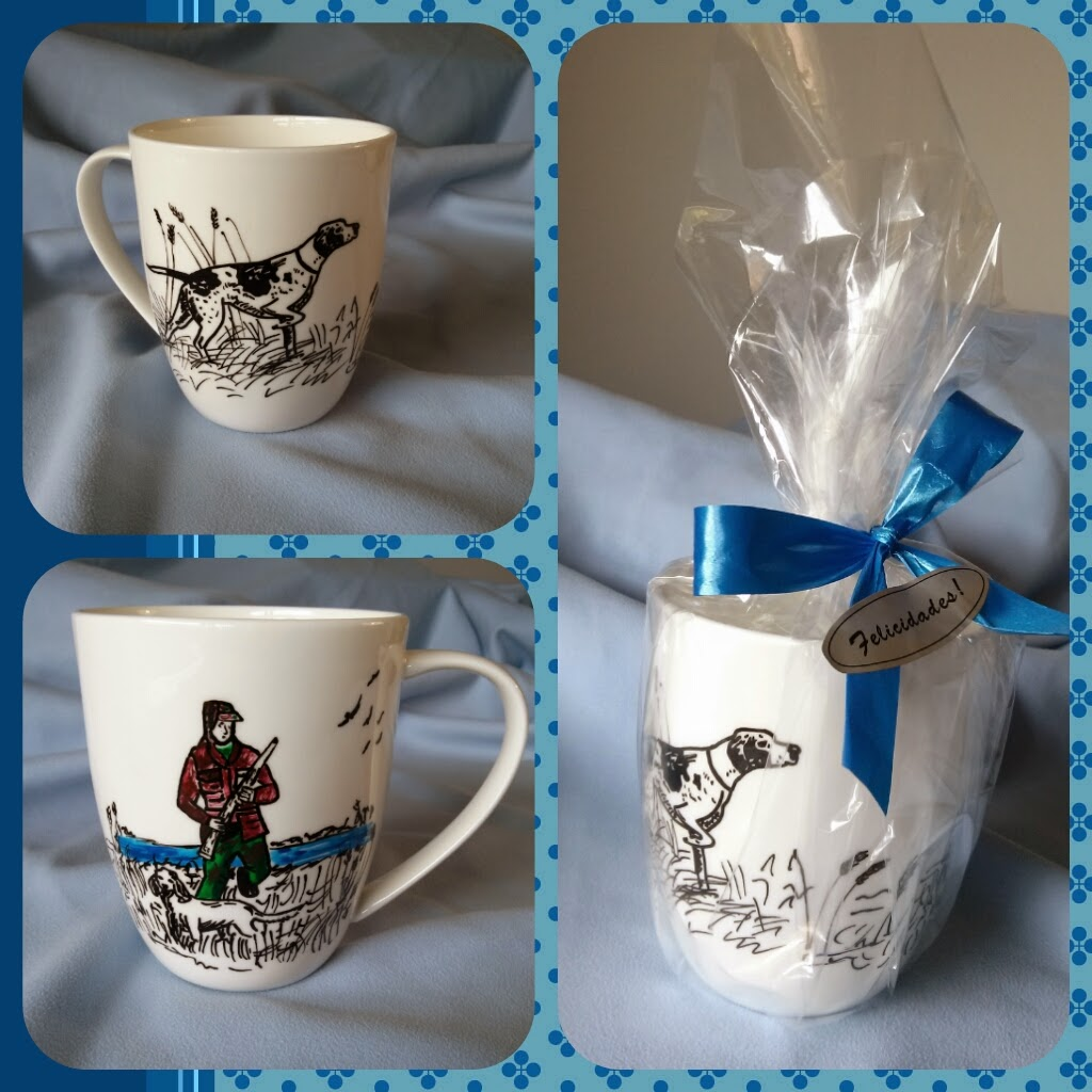 Arte polim rico md tazas decoradas a mano seg n tu gusto - Tazas decoradas a mano ...