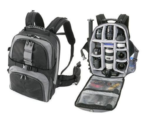 Best Way To Share Experiences...Snap 'em: My New DSLR Backpack:)
