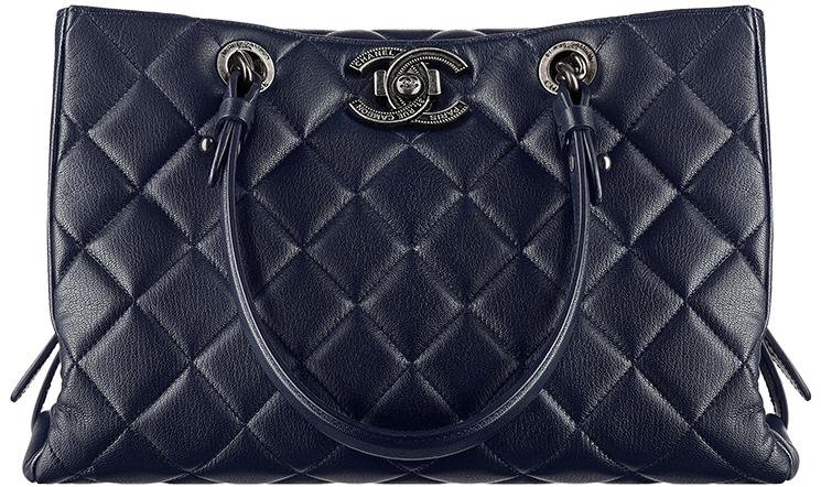 Large Chanel City Rock Goatskin Shopping Bag 44f49c82965d2