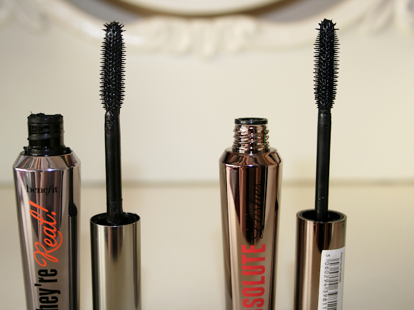 Benefit They're Real vs W7 Absolute Lashes ♥
