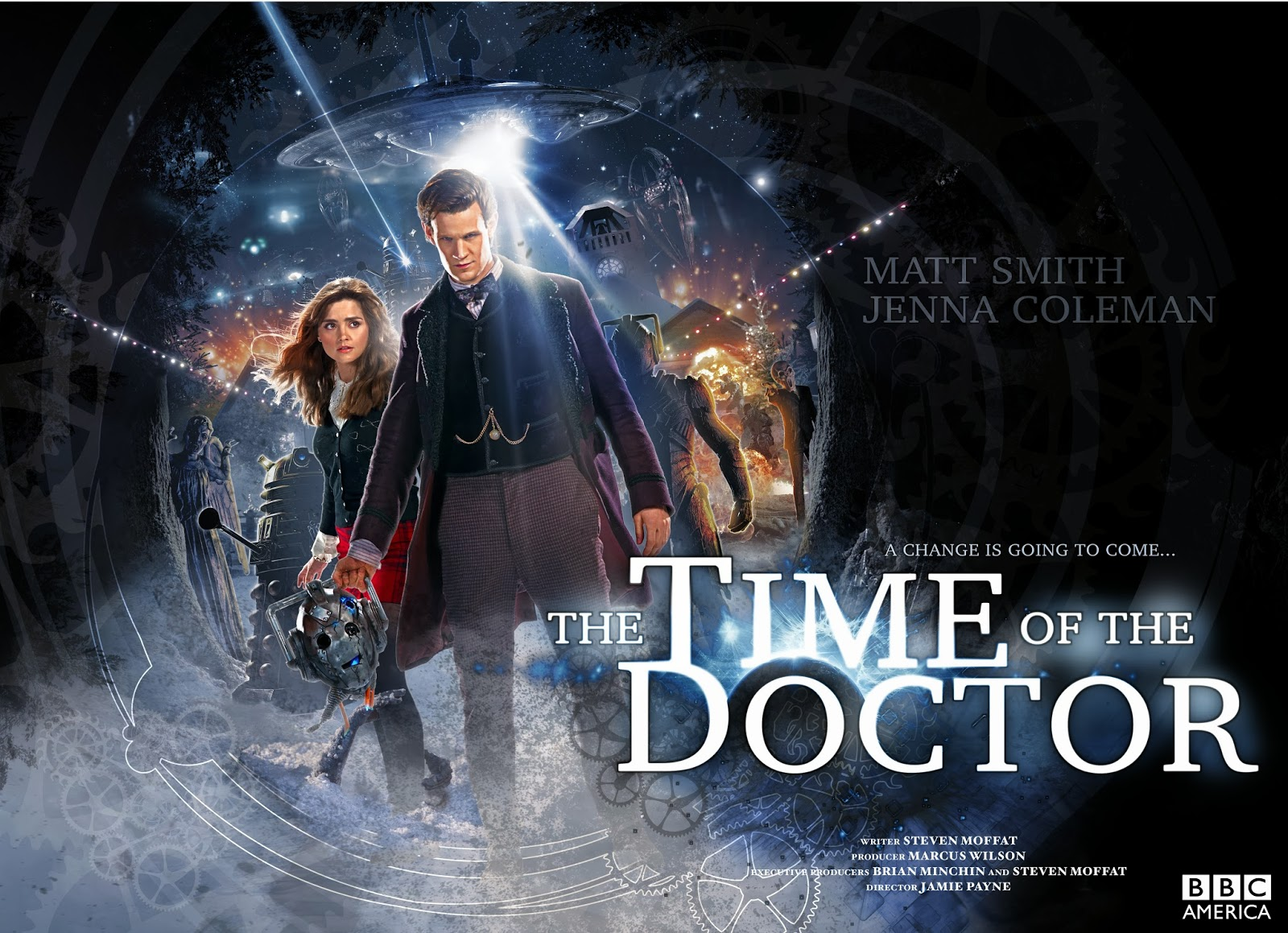 Blogtor Who: The Time of the Doctor movie posters