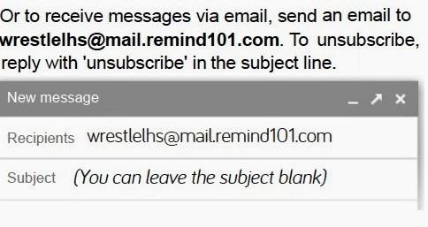 Sign up for e-mail Messages from Coach