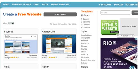 blogger templates gratis