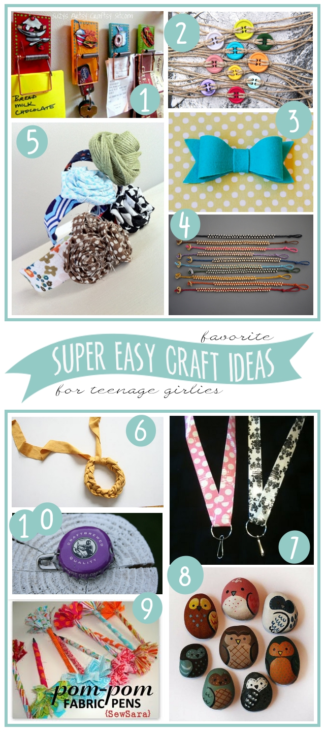 My 3 monsters 10 super easy craft ideas to make with for Cool fun easy crafts