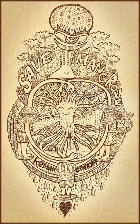 doodle save mangrove
