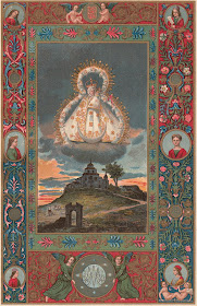 Litografía de Nuestra Señora de la Cabeza