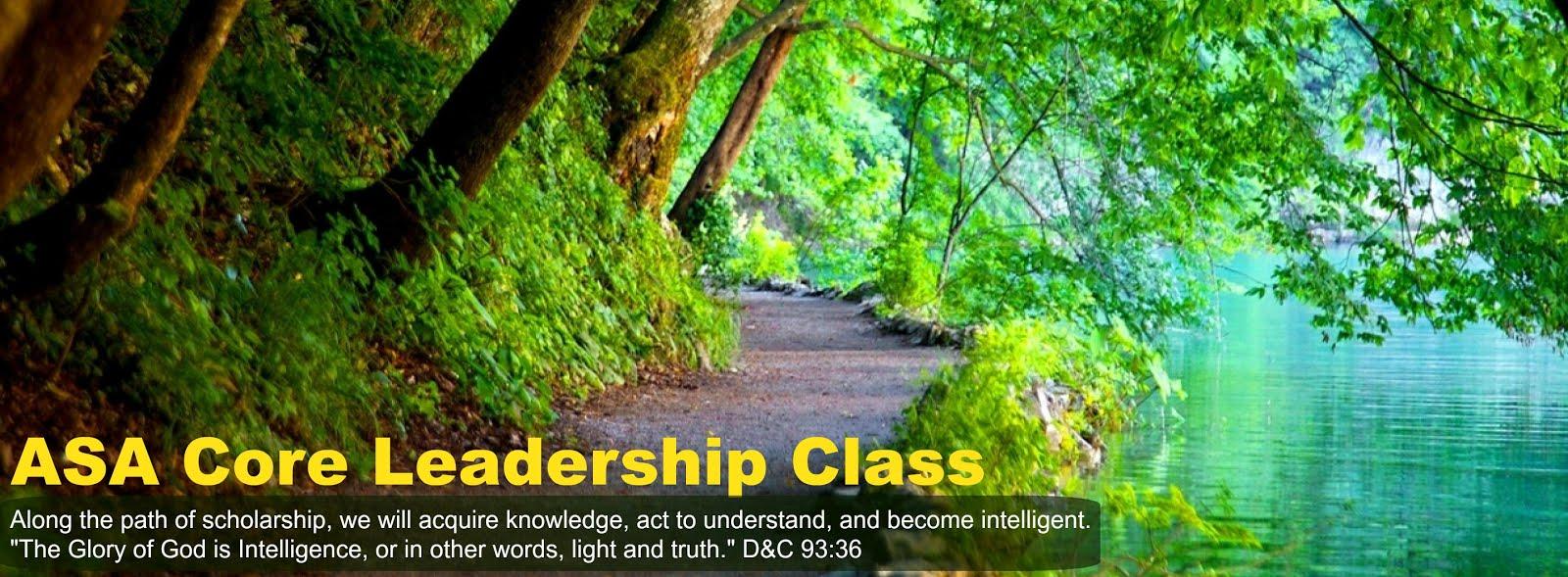 ASA Core Leadership Class 2016-17
