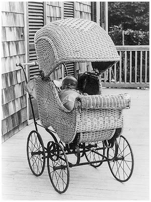 Every day in the life of this baby: out of door nap. 1912.