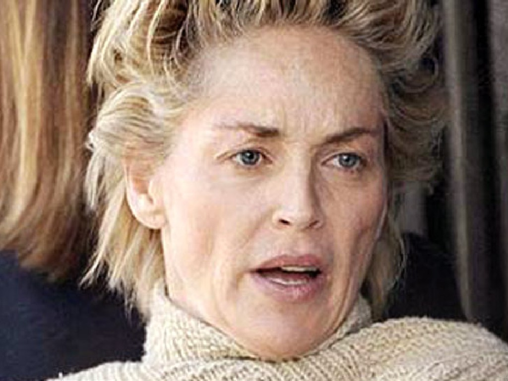 Sharon Stone No Makeup The Devil's Pleasure G...