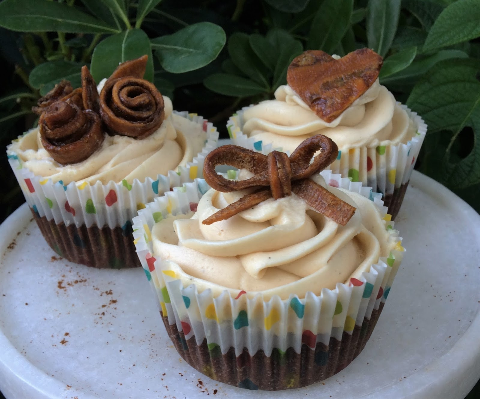 Gluten-Free Chocolate Coffee Cupcakes | In The Kitchen With Honeyville