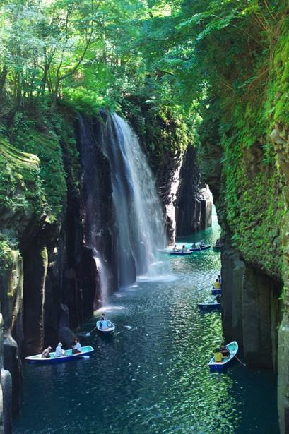 Takachiho Gorge,Miyazaki,Japan