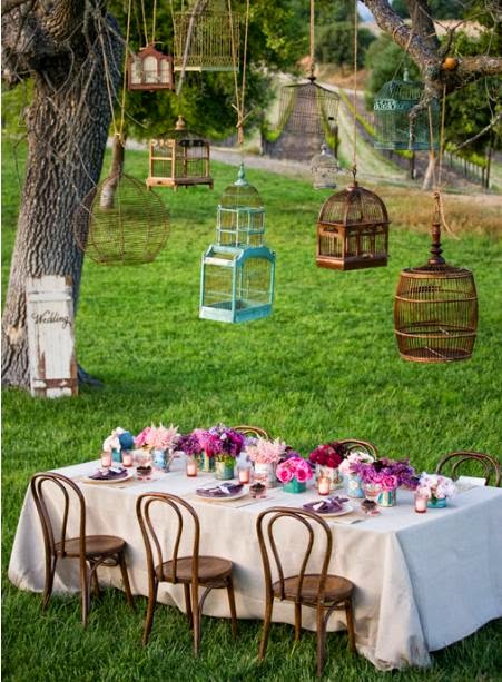 Outdoor Decorations For Wedding Shower : Ideas for a relaxed outdoor bridal shower wedding stuff
