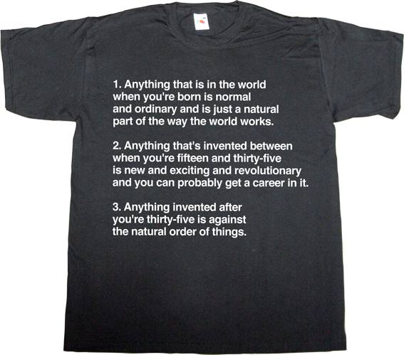 douglas adams The Hitchhiker's Guide to the Galaxy technology mac OSX apple t-shirt ephemeral-t-shirts